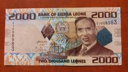 Sierra Leone 2000 Leones UNC 2010