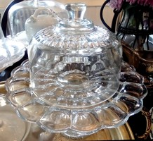 Francia üveg búra 16,2cmx12,2cm