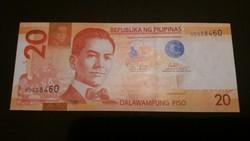 Fülöp-szigetek 20 Piso UNC 2013