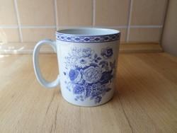 """Spode """"Blue Rose"""" angol porcelán bögre 2,5 dl"""