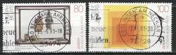 Pecsételt Német 0029 Mi 1673-1674       1,80 Euró