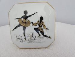 Limoges porcelan ekszeres doboz