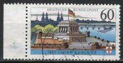 Pecsételt Német 0039 Mi 1583  y       35,00 Euró