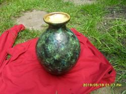 Nagy kövér jelzett retro váza