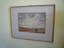 R. Weber akvarell.