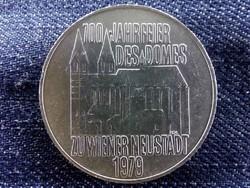 Ausztria, ezüst 100 Schilling 1979, 100 éves a bécsi Neustadt-székesegyház/id 9037/