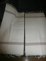 Rojtos törölköző párban- paraszti textilia