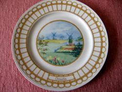 Gyűjtői Villeroy & Boch Luxembourg Corbeille Gouda sajtos tányér