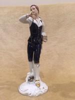 Nagyméretű antik royal dux figura!