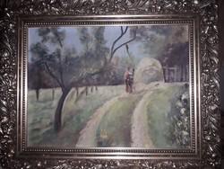 Antik Olaj,festmény