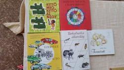 Kettő meg kettő az négy,Ezerféle autó,Termések,Tarkabarka állatvilág,Hányat nézek a naptárban