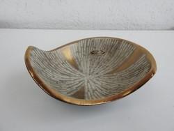 Carstens  iparművészeti jelzett kerámia tál - asztalközép