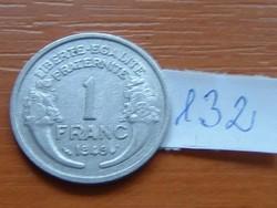 FRANCIA 1 FRANC FRANK 1949 ALU. 132.
