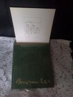 Borsos Miklós monográfia + 1db rézkarc