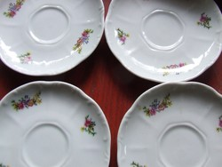 Zsolnay kávés alátét tányér