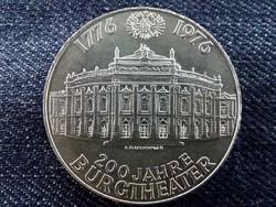 Ausztria ezüst 100 Schilling 1976, 200 éves a Burgtheater/id 9072/