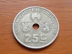BELGIUM BELGIE - BELGIQUE 25 CENTIMES 1938 #