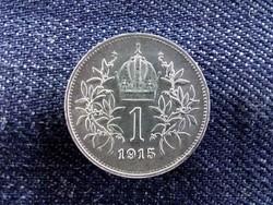 Extra szép ezüst 1 Corona 1915/id 9161/