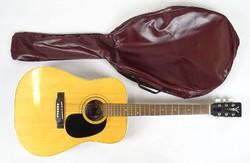 0X178 Szép cseh Cremona gitár tokjában