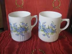 Zsolnay csészék  2 db 75 xm 90 mm