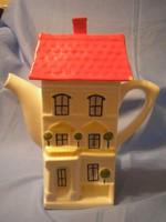 Ú2-U6  Art decó formabontó nagy  teaház kiöntő ritkaság