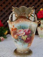 Antik Angol kerámia, fajansz váza