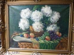 Szánthó G. Virágcsendélet