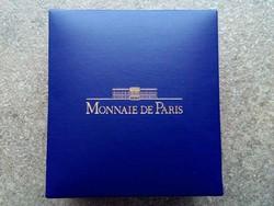 Monnaie de Paris érmetartó díszdoboz 44 mm-es fészekkel (id9632)