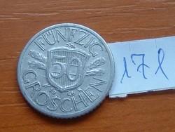 AUSZTRIA OSZTRÁK 50 GROSCHEN 1946 ALU 171.