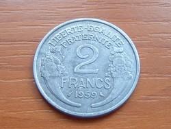 FRANCIA 2 FRANCS FRANK 1959 ALU.