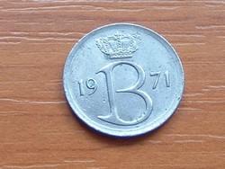 BELGIUM BELGIE 25 CENTIMES 1971