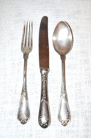 1 személyes ezüst evőeszköz készlet  ( DBZ 00102 )