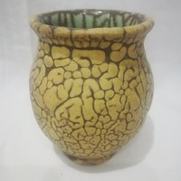 Gorka Géza Nógrádverőce kerámia váza , hibátlan
