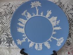 Angol Wedgewood kék tányér