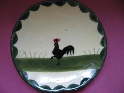 Zeller Schwarzwald kakasos kis tányér
