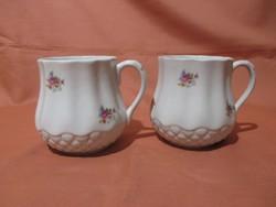 2 db szép Kispesti pocakos bögre, csésze