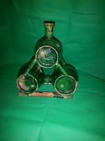 Hordó butella 1827 évszám XIX század 20 cm