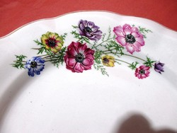 Gyönyörű, régi lapos tányér