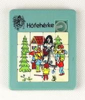 0X189 Retro Hófehérke Tili-Toli játék