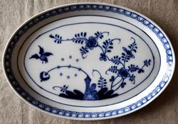 Meisseni hagymamintás ovális porcelán tálca