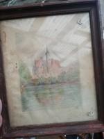 Nagyon régi kép  rajz Breslan 1939