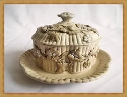Antik Villeroy & Boch porcelán kínáló ( 1852-1872 )