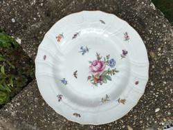Herendi antik tányér rocaille