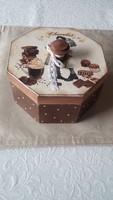 Csokis vintage doboz