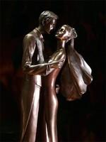 Szerelmespár szobor  (012)