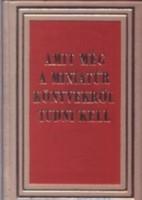 Janka Gyula: Amit még a miniatűr könyvekről tudni kell (minikönyv)