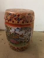 Kínai-keleti porcelán padló ülő- hokedli