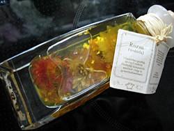 KEFLA üvegben rózsaolaj