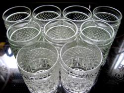 Whisky-s retro pohár készlet 9 db-os