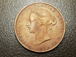 Viktória Jersey 1/13 shilling 1871